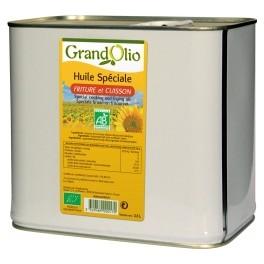 2.5 l Mélange d'huiles pour friture Grand'OLio