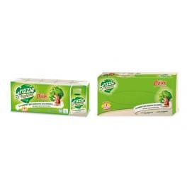 Mouchoirs papier 100 % recyclé en étuis