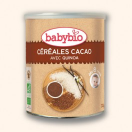 Céréales cacao avec quinoa Babybio