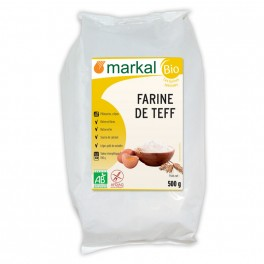 500 g farine de teff blanche Markal