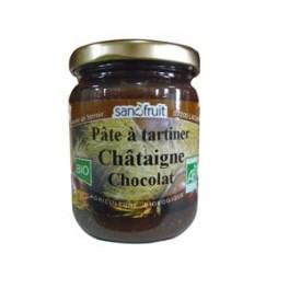 Crème châtaigne chocolat
