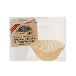 Moules en papier non blanchi FSC