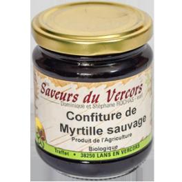 Confiture de myrtille sauvage Les saveurs du Vercors