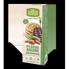 Biscuits Plaisir amandes croquantes nappé chjocolat noir