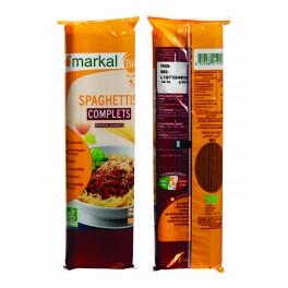 500 g Pates spaghettis complets Markal