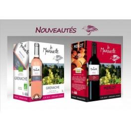 3 l Vin rosé Grenache La Marouette