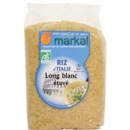 1 kg Riz long blanc étuvé d'Italie Markal